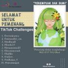 Yayasan Sikola Mombine Umumkan Sepuluh Pemenang Tiktok Challenge 2021