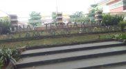 Halaman Kantor Disnakertrans Lamongan. Foto : Ammy/Progresnews.id