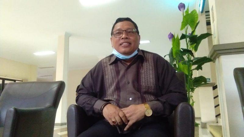 Na'im, Wakil Ketua Komisi A DPRD Lamongan saat mengomentari IMB RS Citra Medika. Foto: Ammy/Progresnews.id.