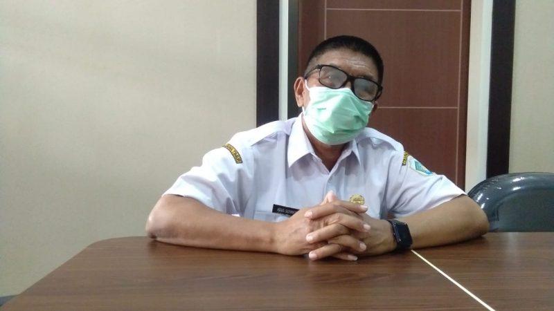 Kepala Dinas Koperasi dan Usaha Mikro Lamongan, Agus Suyanto saat memaparkan terkain BPUM 2021. Foto : Progresnews.id /Ammy.