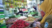 Kondisi terkini salah satu pasar induk di Kabupaten Lamongan. Foto : Istimewa.