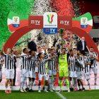 Juventus juara Coppa Italia setelah mengandaskan Atalanta. Foto: @juventus