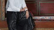 Batik motif Transenden dari Sarung Kanjeng Pekalongan.