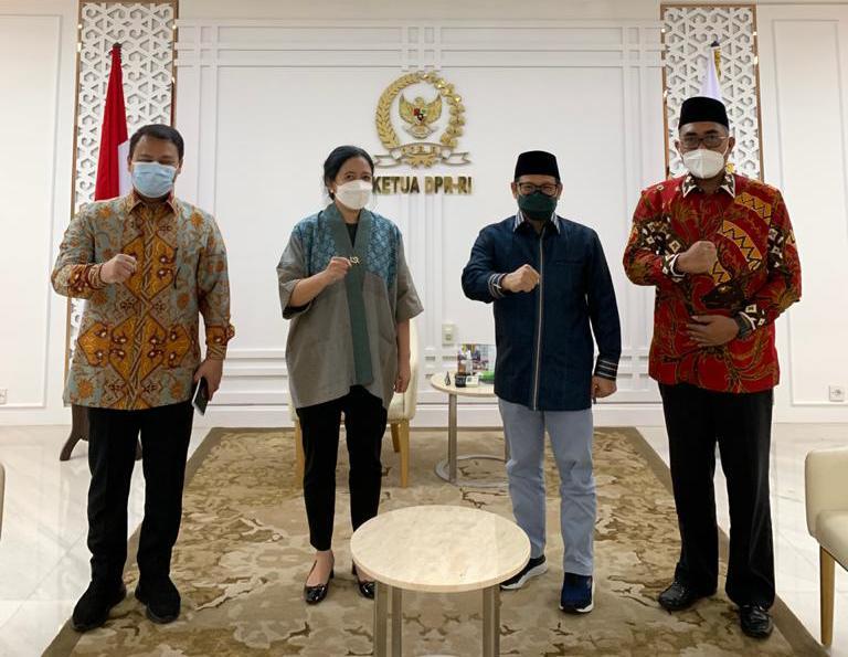 Gus AMI-Puan Tunjukkan Kekompakan Pimpinan DPR dan MPR