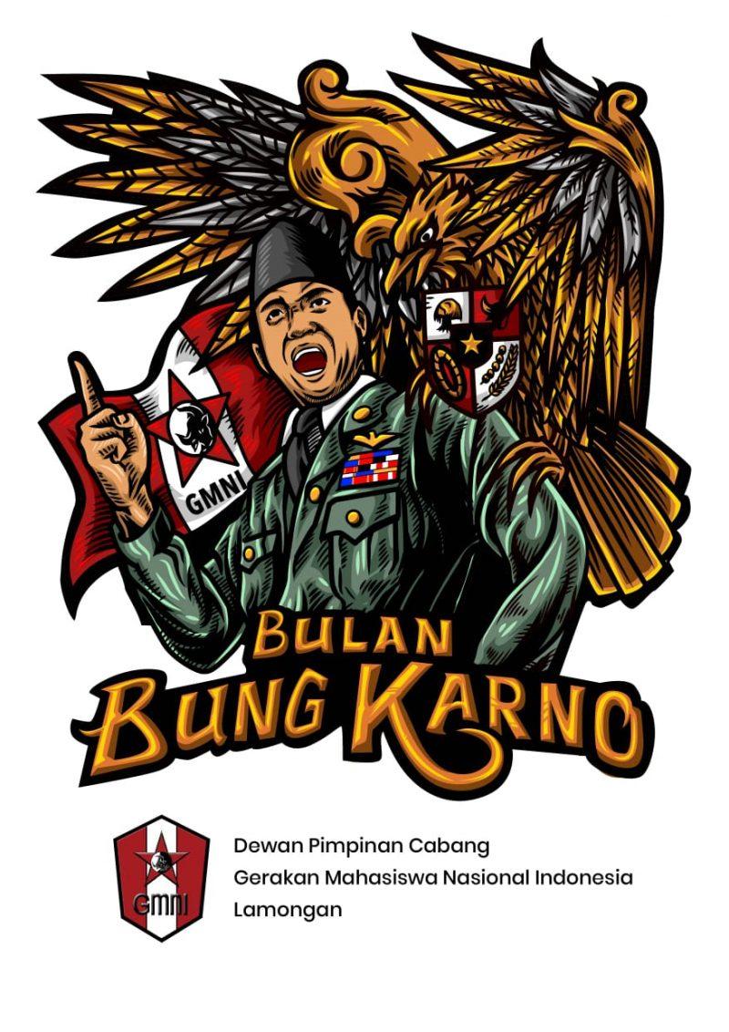 Logo agenda kegiatan peringatan Bulan Bung Karno. Foto: Istimewa.
