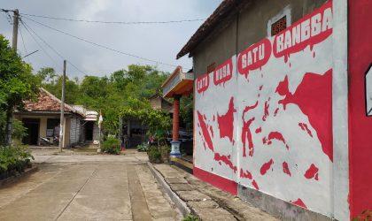 Peringatan Hari Lahir Pancasila di pelosok desa Kabupaten Lamongan. Foto : Ammy.