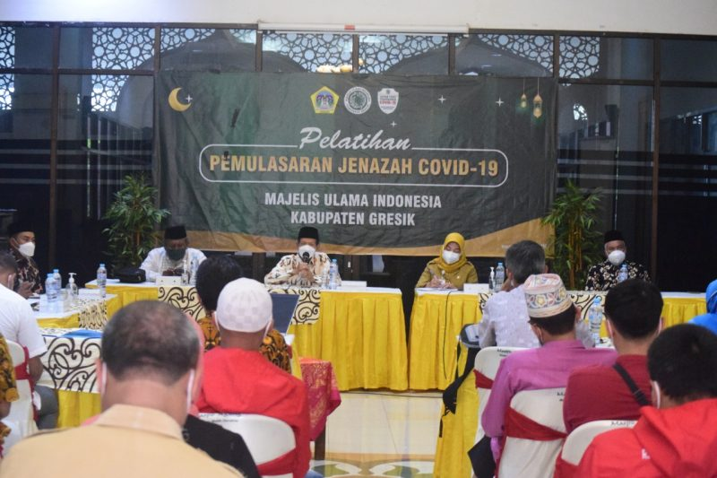 MUI Gresik Fatwakan Syahid Bagi Muslim Yang Wafat Karena Covid-19