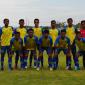 Skuad tim Gresik United saat menjamu Perseba Bangkalan di Stadion Gelora Joko Samudro, Jumat (24/9).