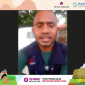 """Duta Petani Milenial Papua Fidel Pepuho Tokoro saat menjadi pembicara pada Festival Petani Milenial dengan tajuk """"Optimalisasi Peran Petani Milenial"""", Senin (25/10)."""