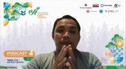 Fernan dari Gerak Aceh dalam Podcast Seri 5 yang merupakan rangkaian dari Festival Inovasi Ecological Fiscal Transfer (EFT), Selasa (19/10).