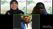 Bupati Jayapura Mathius Awoitauw, Direktur Eksekutif Perkumpulan Terbatas untuk Pengakajian Masyarakat Adat (PtPPMA) Papua Naomi Marasian, dan Sely Martini dari The Reform Initiatives (TRI) dalam Podcast Seri 3: Belajar Dari Penerapan TAKE Kabupaten Jayapura, Selasa (5/10).